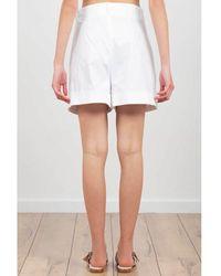 THE M.. Shorts Blanco