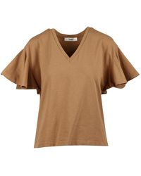 Suoli T-shirt - Marron