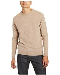 Knowledge Cotton Apparel Field organic lambswool sweater - Neutre