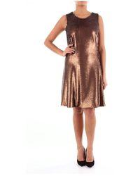 Alessandro Dell'acqua - Adw6351y0008e Calf Dress - Lyst