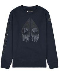 Moose Knuckles Denison Sweater - Blauw