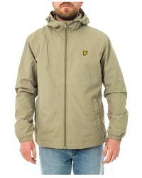 Lyle & Scott Zip Through Hooded Jacket Jk464v.w321 - Groen