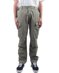 Obey Pantaloni cargo fatigue - Verde