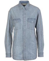 Golden Goose Deluxe Brand Shirt - Bleu