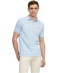 Marc O'polo Short-sleeved Regular Polo Shirt - Blauw