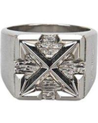 Off-White c/o Virgil Abloh Jewelry Omoc017r21met001 - Grijs