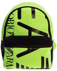 EA7 Backpack - Geel