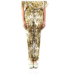 Manila Grace P252vs Trousers - Groen
