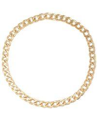 Maison Margiela Chain necklace - Métallisé