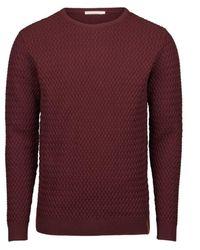 Knowledge Cotton Apparel Sweater - Bruin