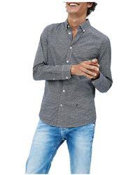 Ganni Camisa - Blauw