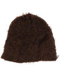 The Attico Hat - Bruin