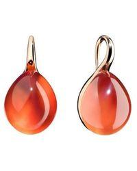 Pomellato Rouge Passion earrings - Orange