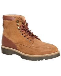 Faguo Holly Suede Hiking Boots - Bruin