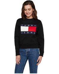 Tommy Hilfiger - Flag Crew Sweatshirt - Lyst