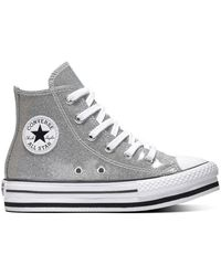 Converse All Stars Chuck Taylor Platform 666400c - Grijs