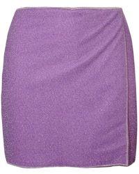 Oséree Lumiere Skirt - Paars