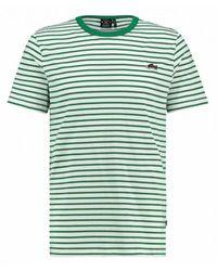 Kultivate Ts Sneaker Stripe T-shirt - Groen