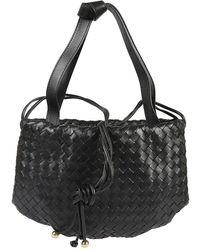 Bottega Veneta Shoulder Strap Bag - Zwart