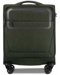 Conwood Pulse 55 Cm Chive Green Cabin Suitcase - Groen