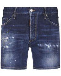 DSquared² Pantaloncini - Blu