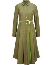 Department 5 Hemdblusenkleid - Groen