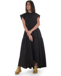 8pm Port S. Lucie Long Dress - Zwart