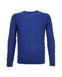 GAUDI Electric Sweater 021gu53034 - Blauw
