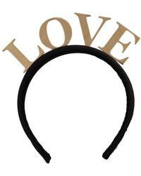 Dolce & Gabbana Diadem Tiara fascia - Nero