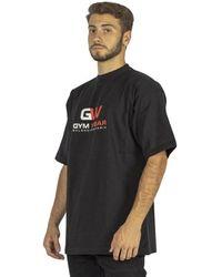 Balenciaga Gym Wear T-shirt - Zwart
