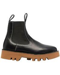Sofie D'Hoore Chealse Boots With Platform - Zwart