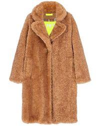 OOF WEAR Fur Coat - Braun