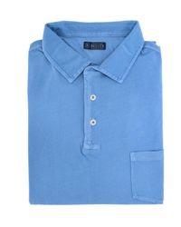 Breuer Polo shirt - Blu
