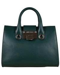 Jimmy Choo Mini Riley handbag - Vert