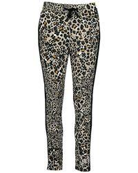 Monari jogging Pants Leopard - Groen