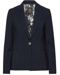 Ted Baker Ottaman Panel Side Jacket - Blauw