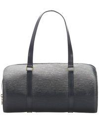 Louis Vuitton Epi Soufflot Leather - Zwart