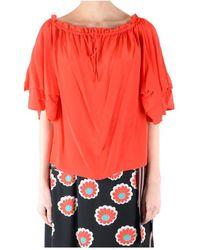 Diane von Furstenberg Shirt - Rosso