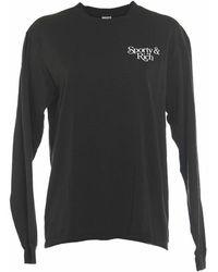 Sporty & Rich Bardot T-shirt - Bruin