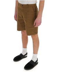 Barena Straight-leg Bermuda shorts - Marron