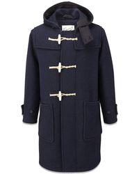 Gloverall Original Monty Duffle Coat - Blauw
