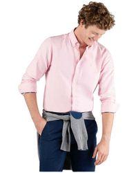 El Ganso Camisa de manga larga lisa - Rosa
