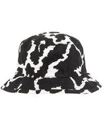 Neil Barrett Bucket Hat - Zwart