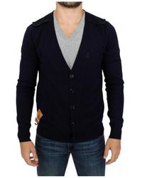 John Galliano - Wool Cardigan Sweater - Lyst