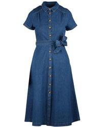 King Louie Dress - Blauw
