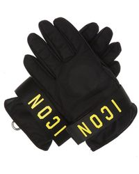 DSquared² - Printed Gloves - Lyst