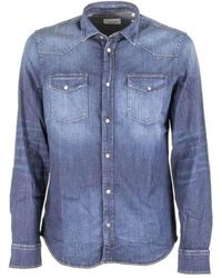 Dondup Denim Shirt - Blauw