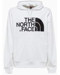 The North Face Standard Hoodie - Wit