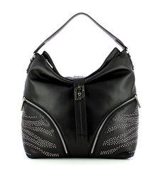 Liu Jo Hobo bag with studs - Noir