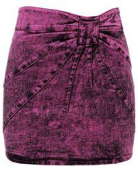 RED Valentino Denim skirt - Viola